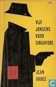 Vijf jongens voor Singapore