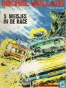 Comic Books - Michel Vaillant - 5 meisjes in de race
