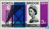 Postage Stamps - Great Britain [GBR] - Forth Road Bridge, phosphorus
