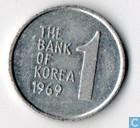 Südkorea 1 Won 1969