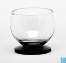 Allround Bitterglas 43 mm blank-zwart