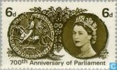 Postage Stamps - Great Britain [GBR] - Jubilee of Montfort's Parliament
