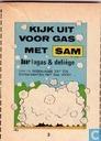 Comics - Sam [Deliège] - Kijk uit voor gas