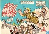 Bandes dessinées - Appie Happie - De Tuinkabouter Europa Cup + Als kopman van de Tip-Top-Toupet Tourploeg