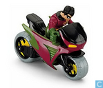 Imaginext DC Superfriends Robin & Cycle