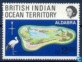 L'atoll d'Aldabra Coral