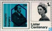Postage Stamps - Great Britain [GBR] - Lister, Lord Joseph 1827-1912