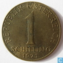 Autriche 1 schilling 1971