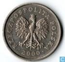 Pologne 20 groszy 2000