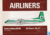 Airliners No.21 (Bouraq HS 748)