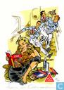 Comics - Bob Evers - De strijd om het goudschip