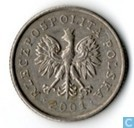 Poland 20 groszy 2001