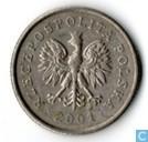 Polen 20 groszy 2001