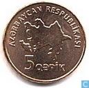 Azerbaijan 5 qapik 2006