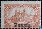 Reichspost Berlin with print