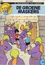 Comics - Peter + Alexander - De groene maskers