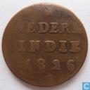 Niederländisch-Ostindien ½ Stuiver 1826 S
