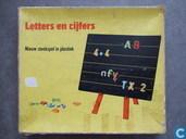 Letters en cijfers / nieuw steekspel in plastiek