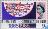 Postzegels - Groot-Brittannië [GBR] - 100 jaar ITU
