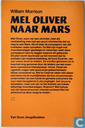 Livres - Morrison, William - Mel Oliver naar Mars