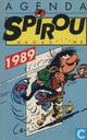 Agenda Spirou Magaziiiine 1989