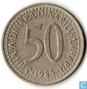 Yugoslavia 50 dinara 1985