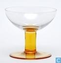 Arbon Champagneschaal blank-goudgeel