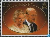 Queen Elizabeth II mariés depuis 60 ans