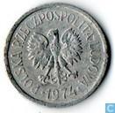 Polen 10 groszy 1974