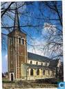 Sint-Lambertuskerk Neeroeteren/Maaseik - Buitenaanzicht vanuit het zuidwesten