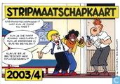 Stripmaatschapkaart 2003/4