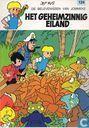 Comics - Peter + Alexander - Het geheimzinnig eiland