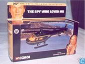 Helicopter 'The spy who loved me' Stromberg