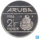 Aruba 2½ florin 1986