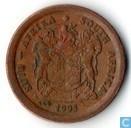 Afrique du Sud 1993 2 cents