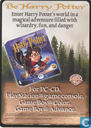 Trading cards - Harry Potter) Special Cards - PC Game Ad - Promo