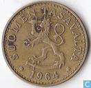 Finland 20 penniä 1964