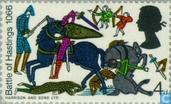 Postage Stamps - Great Britain [GBR] - Battle of Hastings 900 years