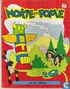 Strips - Mokie en Popie - Mokie en Popie en de vulkaan