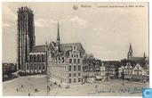 Malines - Cathédrale Saint-Rombaut et Hôtel de Ville