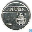 Aruba 10 cents 1987