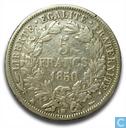 France 5 francs 1850 (BB)
