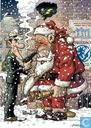 Kerst- en nieuwjaarskaart SAF Comics