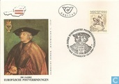 Int.postverbindingen en Europe 500 ans