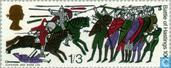 Postage Stamps - Great Britain [GBR] - Battle of Hastings 900 year-phosphorus