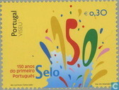 Portugese postzegel 1853-2003