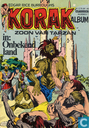 Comics - Korak - Onbekend land