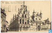 Mechelen - Stadhuis, de Hallen en het museum