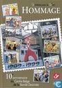 Hommage 9 timbres pour le 9e art