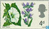 Postage Stamps - Great Britain [GBR] - Flowers-phosphorus